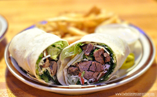 Steak Caesar Wrap at Donatelli's ~ White Bear Lake, MN