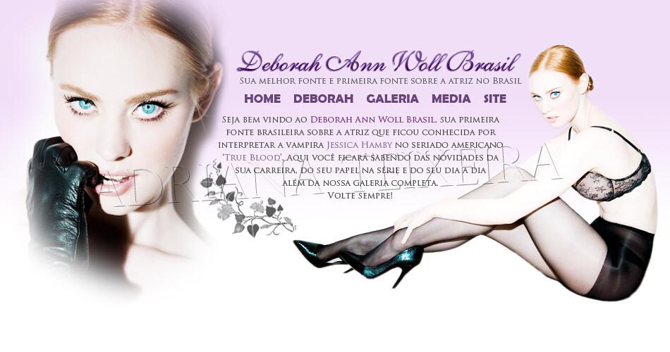 Layout Deborah Ann Woll Brasil