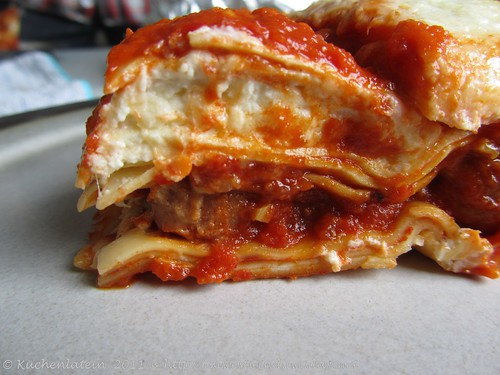 Lasagne mit Salsiccia - Mad Hungry 002