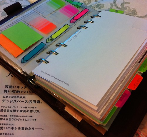filofax clear sheets