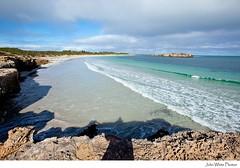 Nora Creina Bay. (john white photos) Tags: beach wave australia remote southeast southaustralia limestonecoast pristine noracreinabay