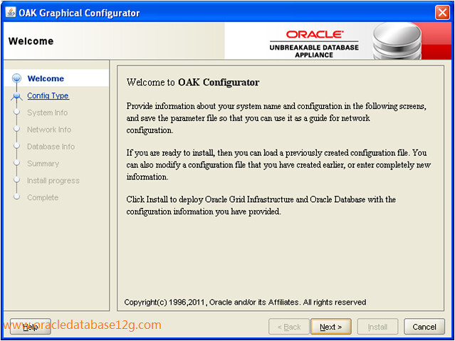 Oracle Appliance Manager Configurator1