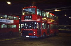 (night) London Northern A102SUU Turnpike Lane 1995 (2) (BristolRE2007) Tags: bus buses ailsa v2 lt londontransport londonnorthern volvoailsa a102suu