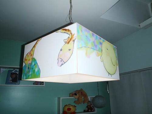 Lampara Colgante de Acrilico Moderna para Chicos by Ludica Iluminacion