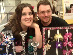 Mr. & Mrs. Christy Bows at the Jet City Comic Show