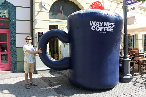I love coffee in a big cup by feradz