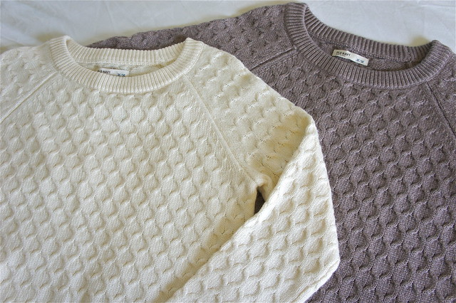 Old Navy chunky knit sweaters