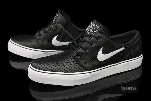 perf leather janoskis
