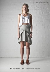 Kowtow Summer 2011/2012 - Impermanence (kowtow clothing) Tags: summer fashion design clothing model clothes collection cotton dresses impermanence prints trousers shorts organic skirts fairtrade teeshirts kowtow buildingblocks lookbook pqnts