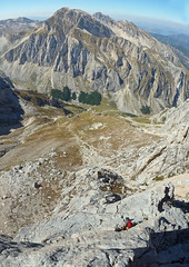Alpinismo Gran Sasso - via Valeria