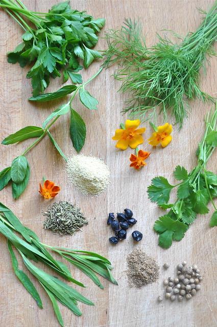 Gruusia köögi ürdid ja vürtsid/georgian herbs and spices