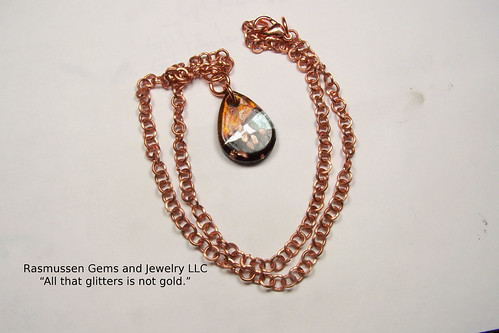 Copper Chain Necklace