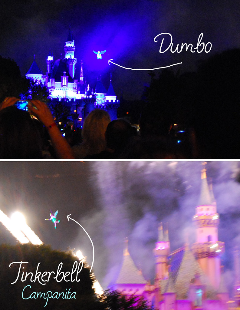 Dumbo and tinkerbell