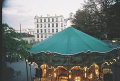 montmartre carrousel (tragedyofthecommons) Tags: paris film analog montmartre 400 portra carrousel