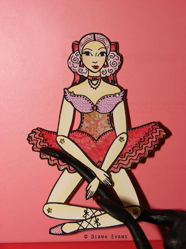 pink ballerina paper doll 2011 005