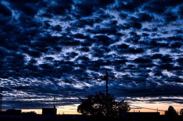 杉戸の朝明け
