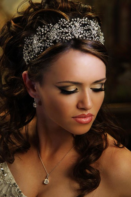 Swarovski bridal headpiece by Bridal Styles Boutique