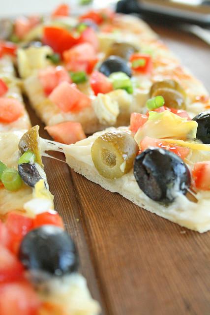 Mediterranean Pizza 2