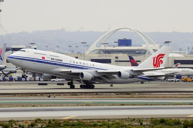 Air China Boeing 747-4J6M  (B-2471)