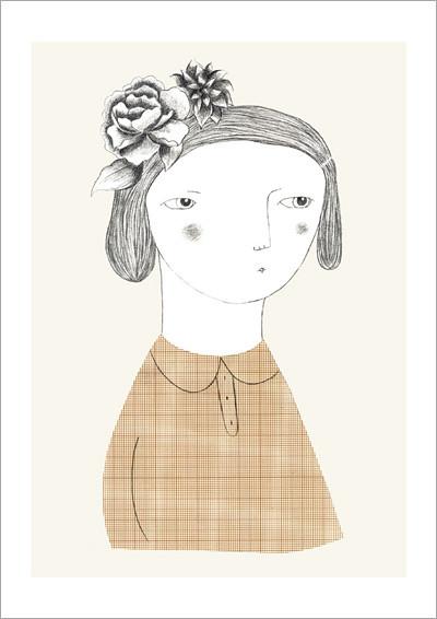 flower_girl_A4 print