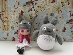 Gorro y Amigurumi Totoro
