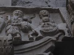La fuga in Egitto (Gian1979) Tags: art arte maria relief genoa genova sanlorenzo cristo romanesque bas genes romanico giuseppe gotico gotic asinello ges bassorilievo fugainegitto