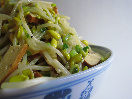 chinese Soybean Sprouts Tofu Stir Fry recipe