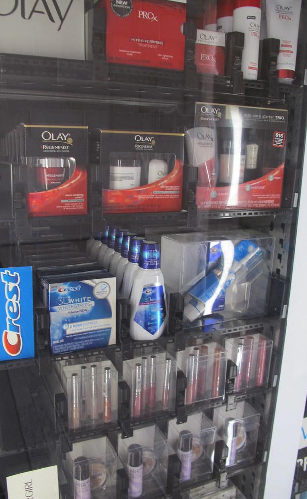 Fashion Valley Mall: Beauty Bar Vending Machine