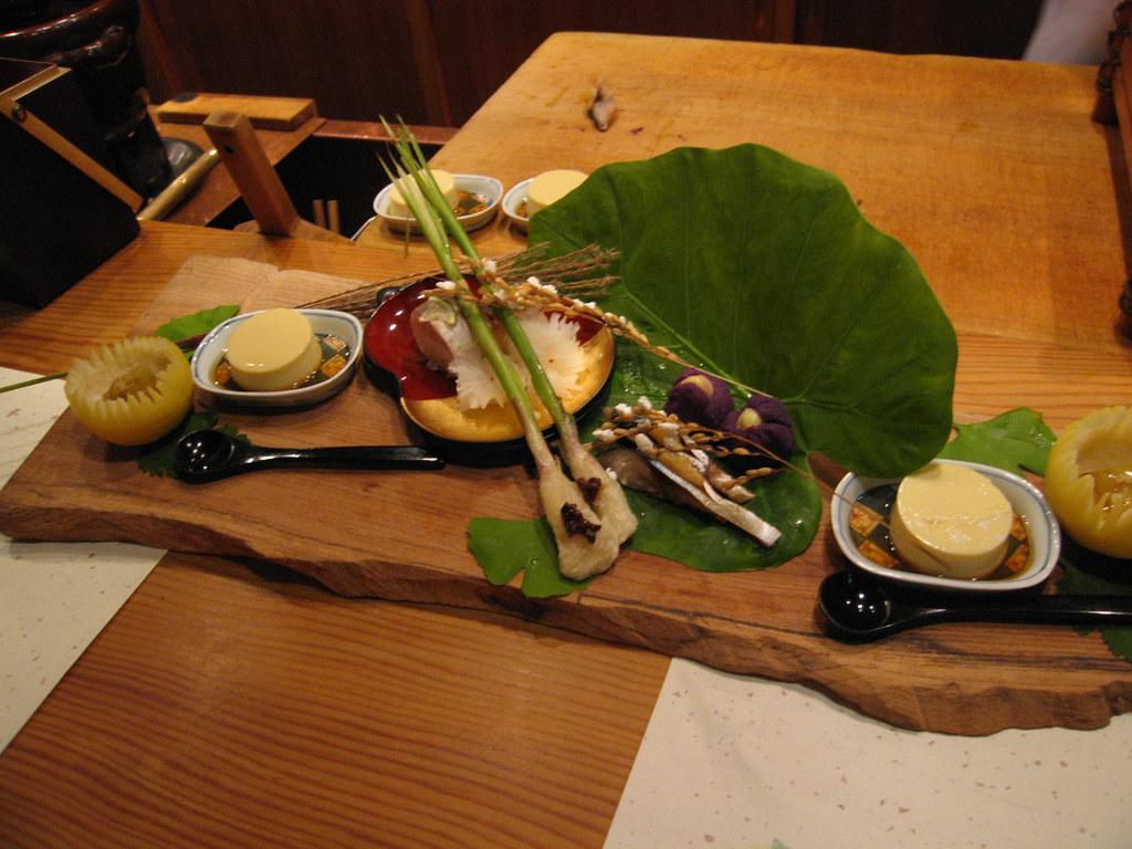 懐石料理 Kaiseki Style Japanese Food