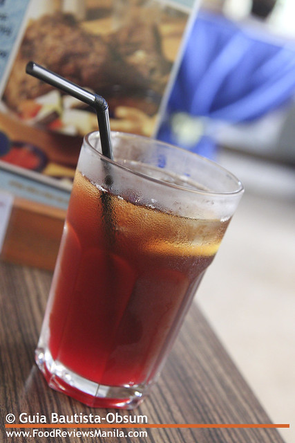 Fish and Co. Strawberry Iced Tea