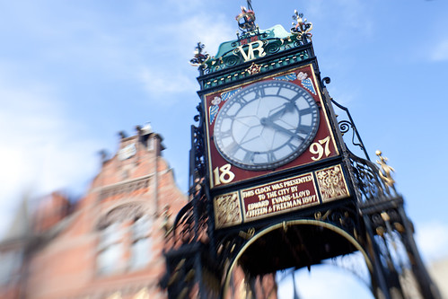 757/1000 - Chester Clock by Mark Carline