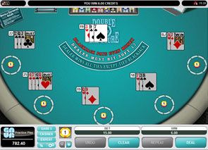 Multi-Hand Double Explosure Blackjack