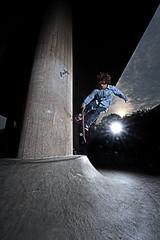 Jump (rhasanen) Tags: man concrete jumping skateboard skater trick