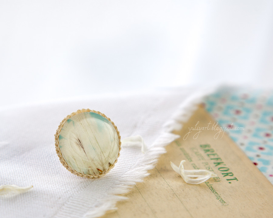 Breath Of Fresh Air - handmade brooch