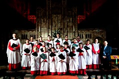 Chester Cathedral Choir visit St. George's, Stockport (cathedralchoir) Tags: w777