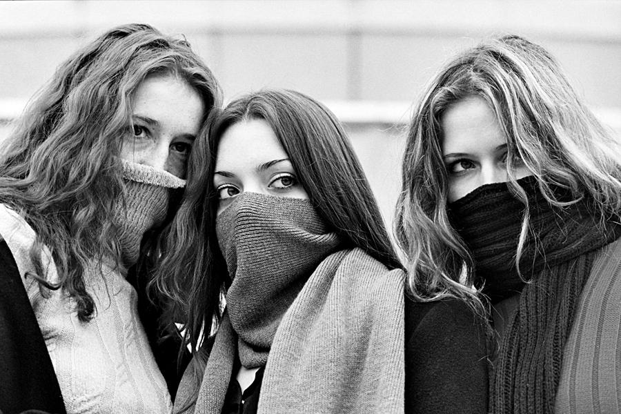 """Girls of the Natsbol party""| Photo - Sergey Belyak| 2011"