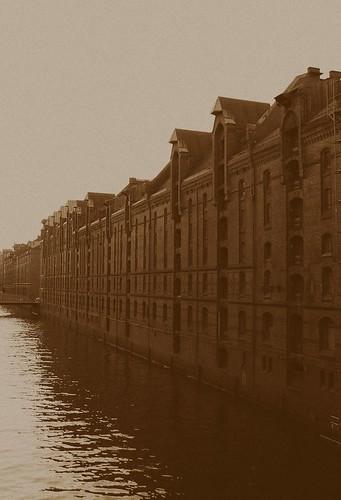 Speicherstadt in the old days