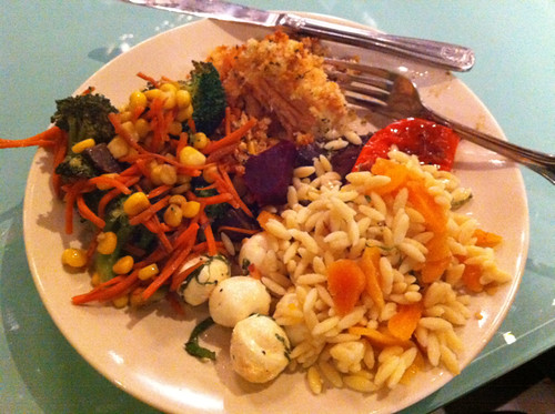 surprise dinner after class at KitchenCru
