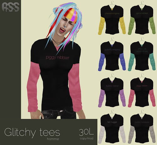 A:S:S - Glitchy tee (m) by Photos Nikolaidis