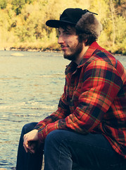 thinking (holdinontoblackmetal) Tags: county new york portrait lake fall love college boyfriend beautiful canon vintage photography emily community tupper spada xsi herkimer boyer rafe