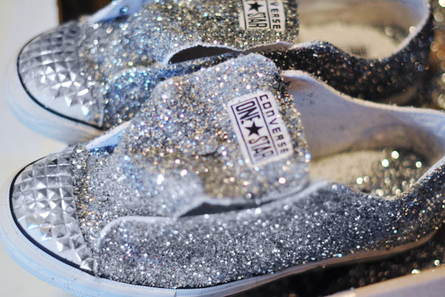 995a100fc0e7 DIY Glitter Sneakers    Inspired by Miu Miu Embellished Shoes ...