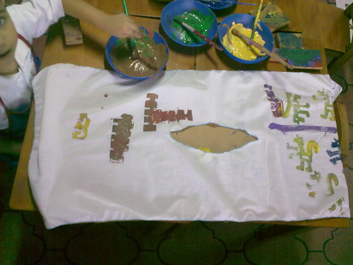 Taller de huipiles (textiles  indígenas)
