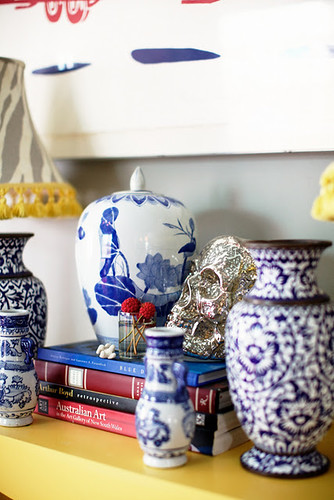 blue & white ceramics