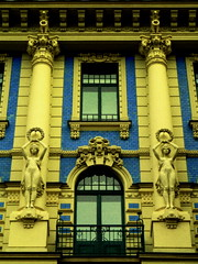 Riga 2011 (Berliner08) Tags: windows fenster facades baltic latvia ventanas artnouveau balconies riga jugendstil fenêtres balcones lettland fachadas fassaden latvija baltique balcons letonia fasada baltikum lettonie blacons balkonen paysbaltes artemodernista paisesbalticos elizabetaiela