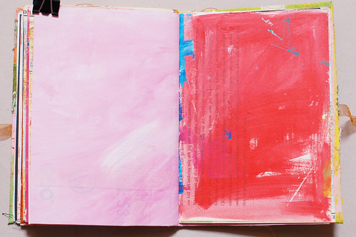 Journal of Scraps I: light & bright pink