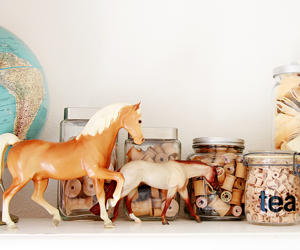 horses & spools
