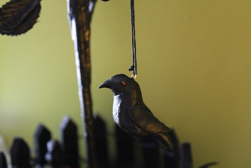 Halloween Tree - crow