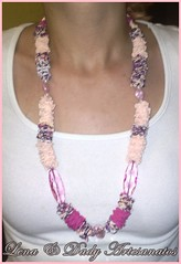 101020112527 (Lena & Dady Artesanato) Tags: tiara de lindo fuxico colar tecido malha trapilho
