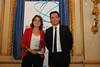 Stéphanie Bourgeais, responsable du projet La Fabrique RATP, Erick Jan Vareschard, en charge des administrations centrales de Cisco France