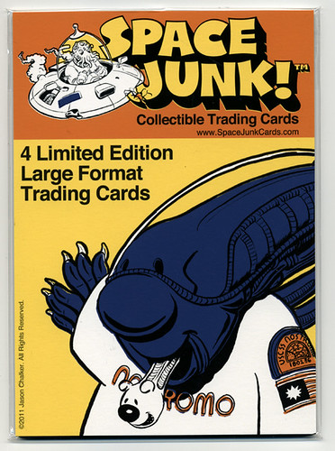 Space Junk!™ Cards Are Here! by Manly Art